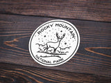 Rocky Mountain National Park Sticker | National Park Decal - Albion Mercantile Co.
