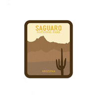 Saguaro National Park Sticker | National Park Decal - Albion Mercantile Co.
