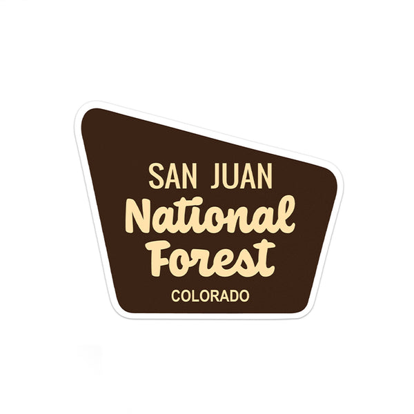 San Juan National Forest Sticker - Albion Mercantile Co.