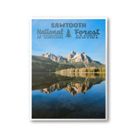 Sawtooth National Forest Poster
