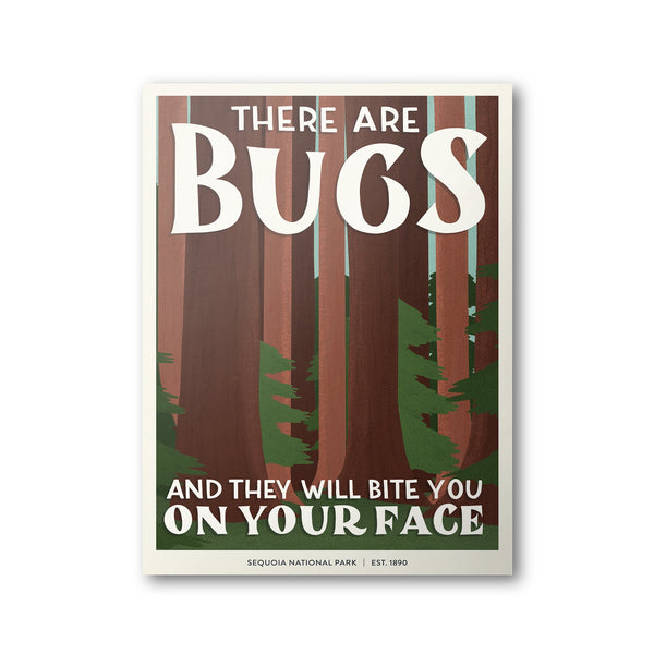 Sequoia National Park Poster | Subpar Parks Poster - Albion Mercantile Co.