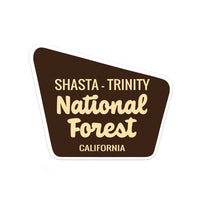 Shasta-Trinity National Forest Sticker - Albion Mercantile Co.