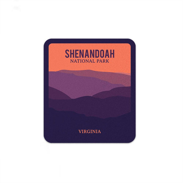 Shenandoah National Park Sticker | National Park Decal - Albion Mercantile Co.