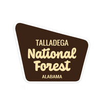 Talladega National Forest Sticker - Albion Mercantile Co.