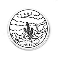 Texas Sticker - Albion Mercantile Co.