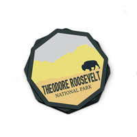 Theodore Roosevelt National Park Sticker | National Park Decal - Albion Mercantile Co.