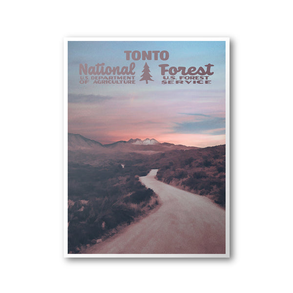 Tonto National Forest Poster