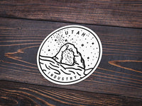 Utah Sticker - Albion Mercantile Co.