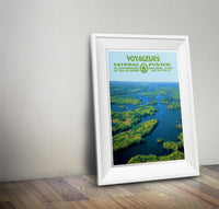 Voyageurs National Park Poster - Albion Mercantile Co.