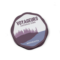 Voyageurs National Park Sticker | National Park Decal - Albion Mercantile Co.