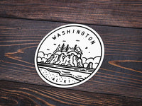 Washington Sticker - Albion Mercantile Co.