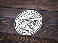 West Virginia Sticker - Albion Mercantile Co.