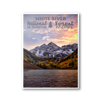 White River National Forest Poster
