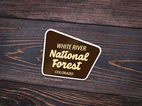 White River National Forest Sticker - Albion Mercantile Co.