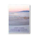 White Sands National Park Poster - Albion Mercantile Co.
