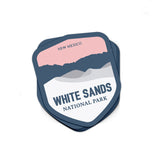 White Sands National Park Sticker - Albion Mercantile Co.