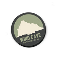 Wind Cave National Park Sticker | National Park Decal - Albion Mercantile Co.
