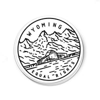 Wyoming Sticker - Albion Mercantile Co.