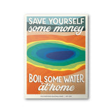 Yellowstone National Park Poster | Subpar Parks Poster - Albion Mercantile Co.