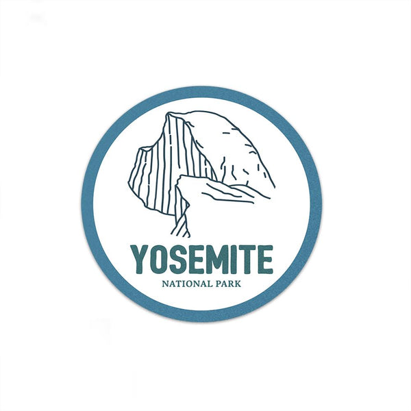 Yosemite National Park Sticker - Albion Mercantile Co.
