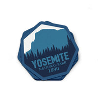 Yosemite National Park Sticker | National Park Decal - Albion Mercantile Co.