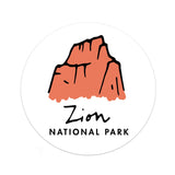 Zion National Park Sticker - Albion Mercantile Co.