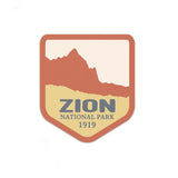 Zion National Park Sticker | National Park Decal - Albion Mercantile Co.