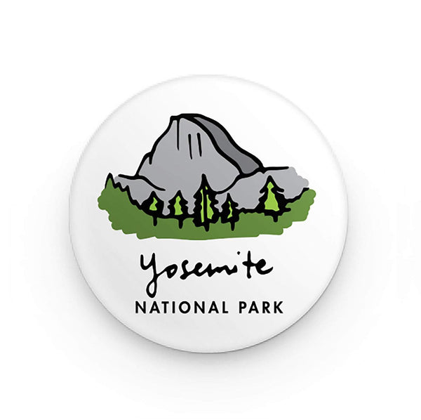 Yosemite National Park Button Pin - Albion Mercantile Co.