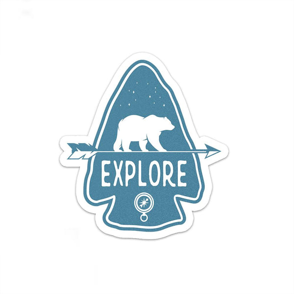 Explore Sticker | National Park Sticker | Decal - Albion Mercantile Co.
