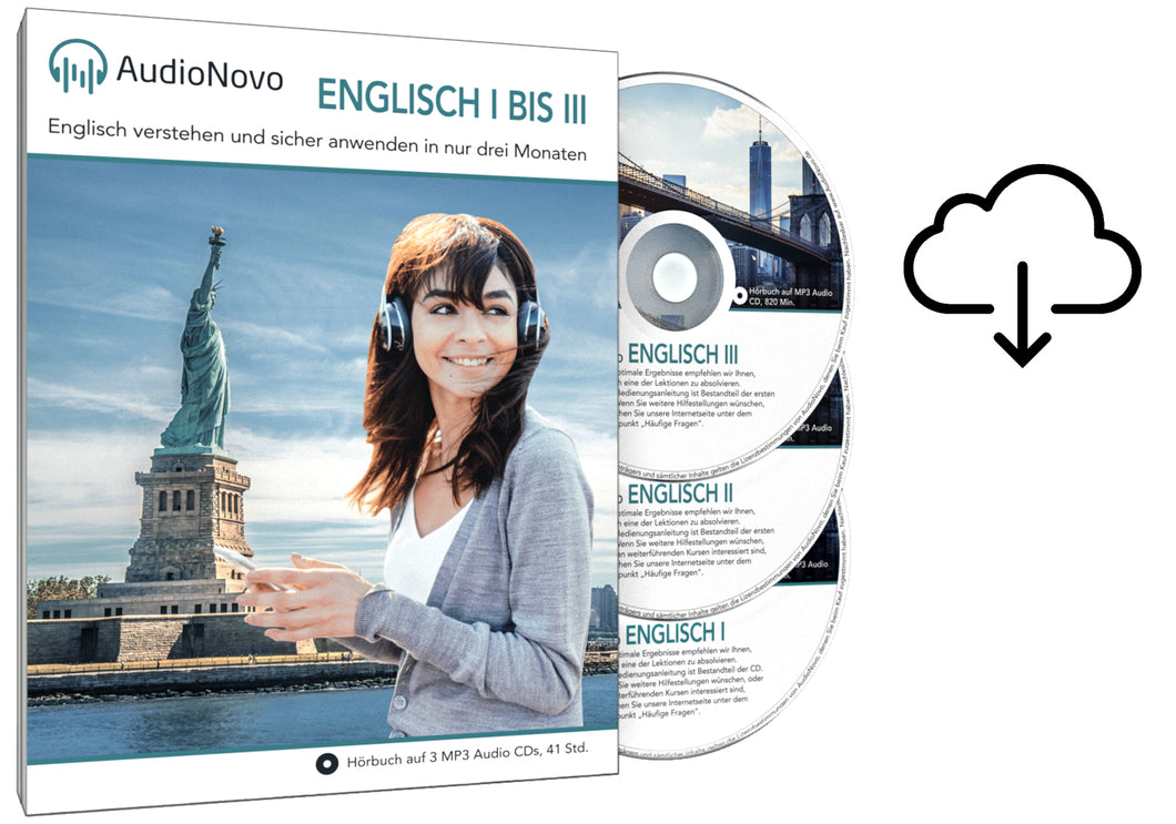 AudioNovo Englisch I TO III Upgrade