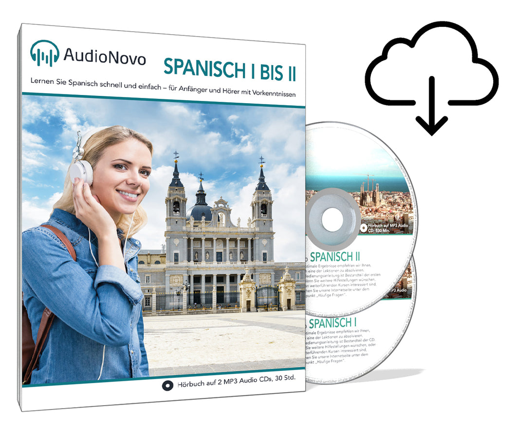 AudioNovo Spanisch I-II - Download