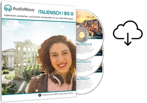 AudioNovo Italienisch I-III - Download