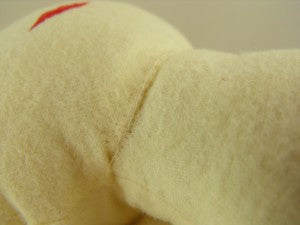 How To Sew A Rag Doll - Sewing The Head To The Body