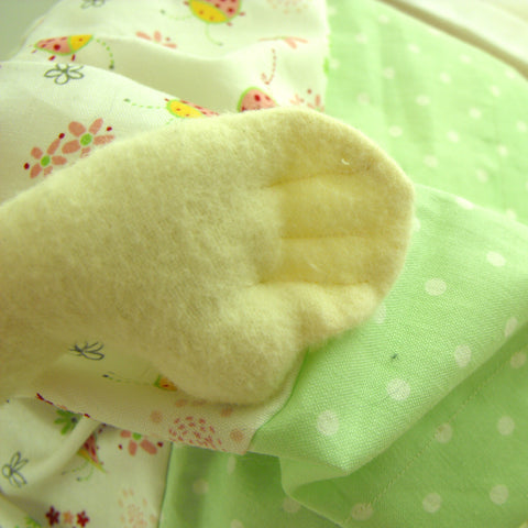 How To Sew A Rag Doll - Hands Close Up Detail