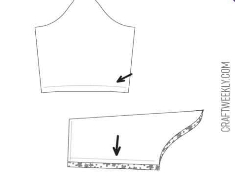 How To Make A Dress (Step 2) - Sew The Sleeves
