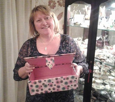 Linda Kiddell - How To Make A Fabric Covered Box
