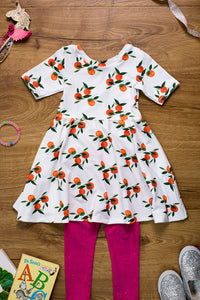 The Clementine Twirly Dress - PDF Sewing Pattern 2T - 10T