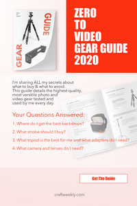 Photo/Video Gear Guide - Zero To Video