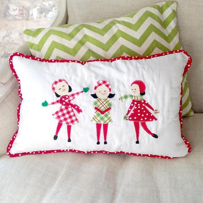 Joyful Noise Quilted Applique Pillow Pattern