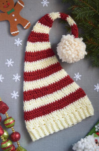 Long Tail Christmas Hat Crochet Pattern