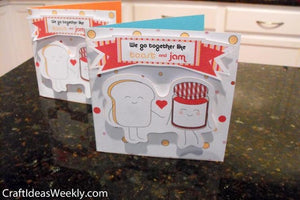 'Toast & Jam' Print and Cut Card Kit