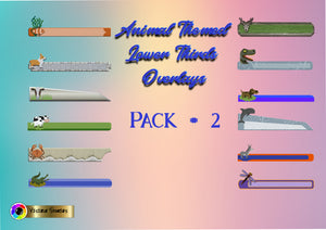 Animals Lower Thirds Overlays Pack  #2