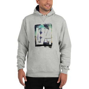 Grey Hoodie with L.A print