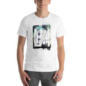 White T-Shirt with L.A Print