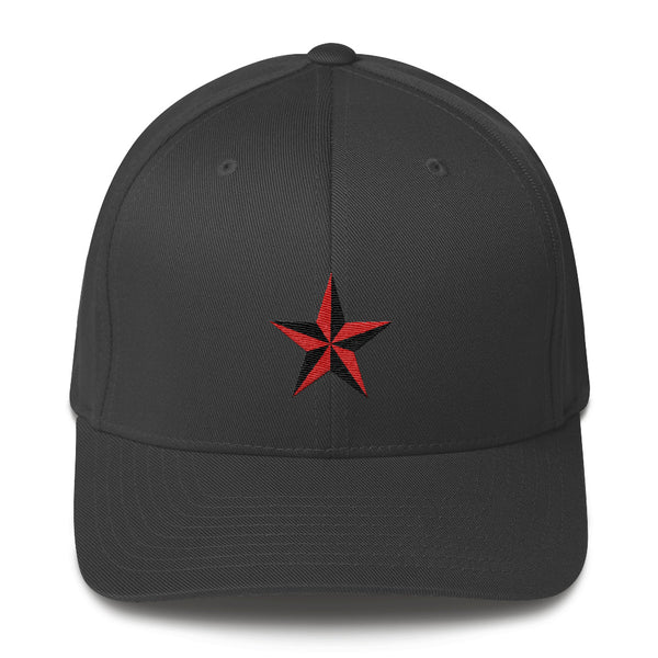 Dark grey cap with Star embroidery