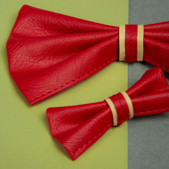 Candy Apple Red Bowtie