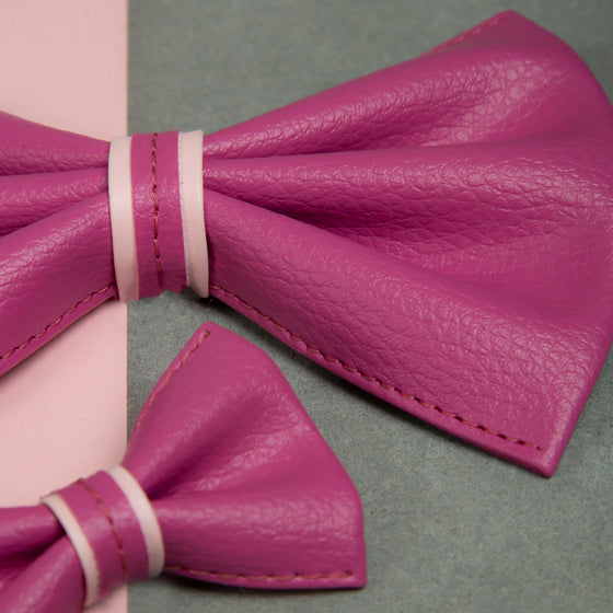 Cotton Candy Swirl Bowtie