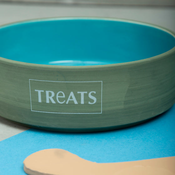 Glacier Blue Treat Bowl