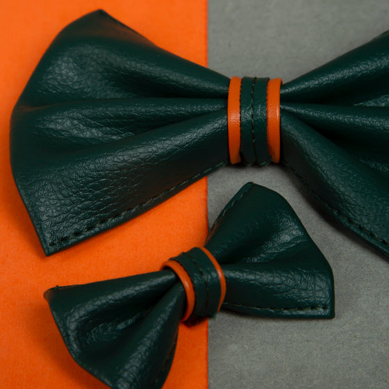 Through the Garden Green Bowtie