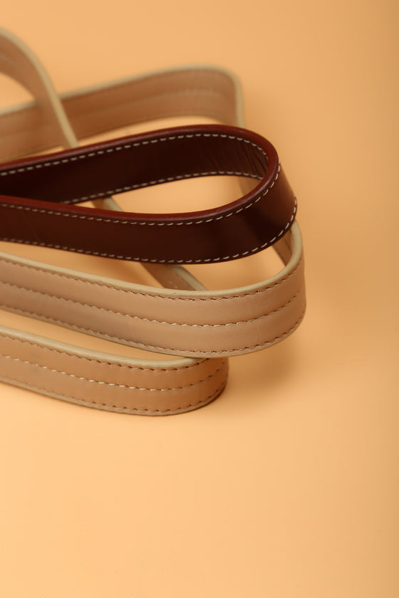 Mulberry & Vanilla Two-Tone Leash